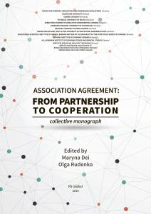 Cover for ASSOCIATION AGREEMENT: FROM PARTNERSHIP TO COOPERATION