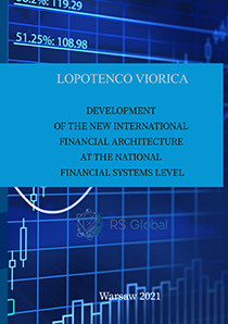 Cover for DEVELOPMENT OF THE NEW INTERNATIONAL FINANCIAL ARCHITECTURE AT THE NATIONAL FINANCIAL SYSTEMS LEVEL